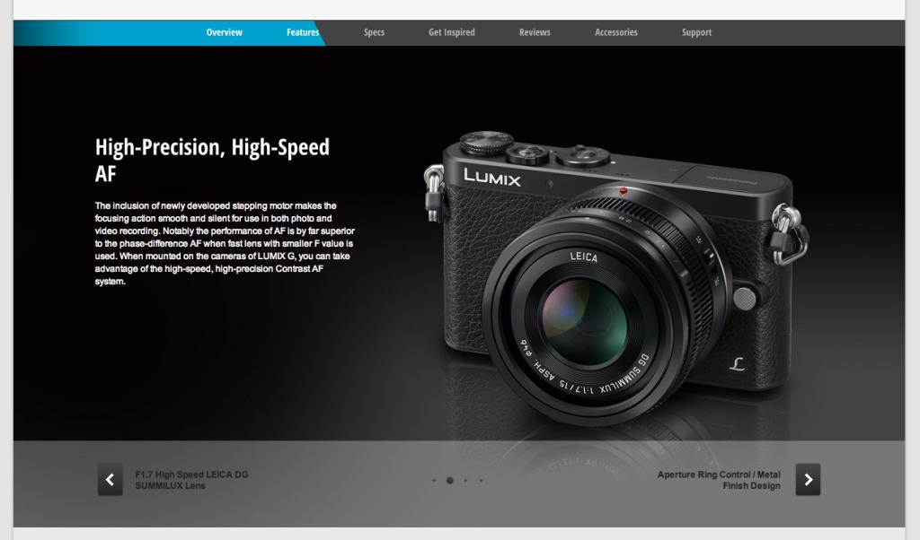 Panasonic-Leica 15mm F1.7 Lens