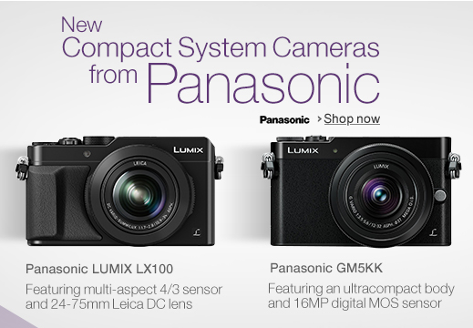 Panasonic GM5 and LX100