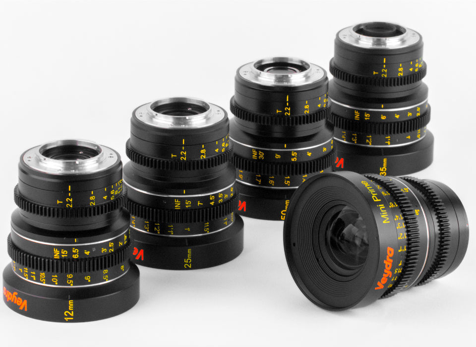 Anamorphic Cine Lenses for Micro Four Thirds