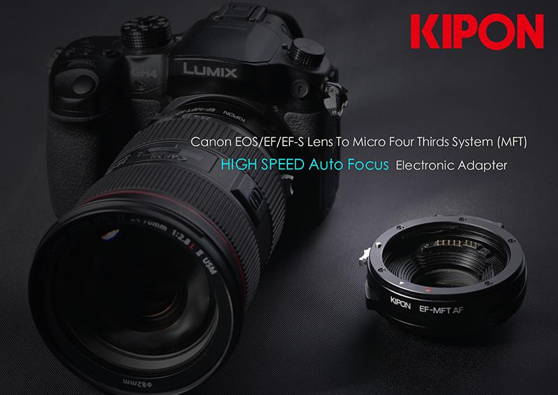EF-m43 Auto Focus Adapter - GH4 w/ Canon 24-70 f2.8 L