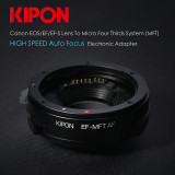 Canon EF to Micro Four Thirds (m43) Adapter + AUTO FOCUS!