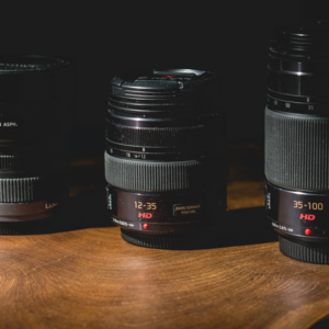 Panasonic 7-14mm f4.0, 12-35 and 35-100mm f2.8