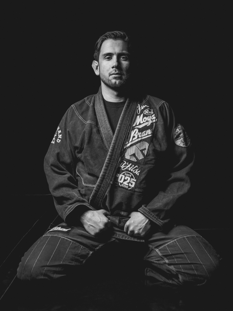 A Moody Portrait with a BJJ Black Belt. Shot with the EM5 + 35-100mm f2.8