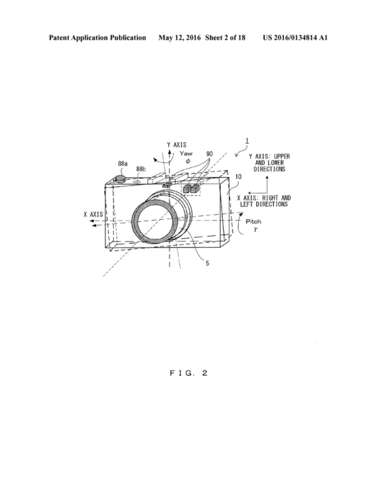 Olympus Camera Lens Patents 2016