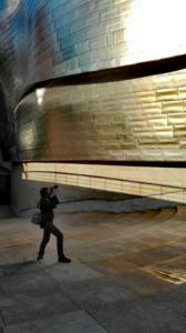 Carwyn Guggenheim Bilbao homework visit | Photo By: Marisa Candia Cadavid
