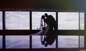 wedding-sillohette